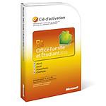Microsoft Office Famille et Etudiant 2010 - 1 PC - Carte d'activation