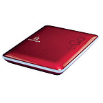 Iomega eGO Portable Hard Drive Compact Edition 320 GB USB 2.0 Rouge