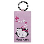 Hello Kitty - Chaussette fleur Hello Kitty (coloris rose)