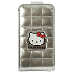 Hello Kitty - Etui pour iPhone 3G / 3GS (coloris argent)