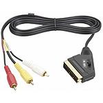 Thomson Câble Péritel Mâle/3x RCA - Connecteurs plaqués Or