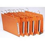 25 Dossiers suspendus fond 15 mm 240 g Orange