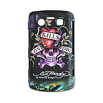 "Ed Hardy - Faceplate BlackBerry Bold 9700 ""Love Kills Slowly"""