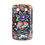 "Ed Hardy - Faceplate BlackBerry Bold 9700 ""Eternal Love"""