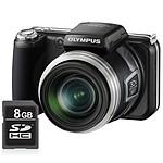 Olympus SP-800UZ Noir + SDHC 8 Go