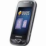 "Samsung ""DuoS"" GT-B7722 Noir"