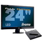 iiyama ProLite E2472HDD-1 + Wacom Bamboo