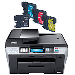 Brother MFC-6890CDW + Pack de 4 cartouches