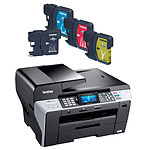 Brother MFC-6490CW + Pack de 4 cartouches