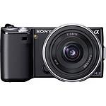 Sony NEX-5 Noir + Objectif 16 mm