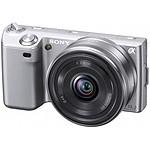 Sony NEX-5 Argent + Objectif 16 mm