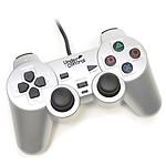 Under Control Manette Vibrante Shockcontroller Argent (PS2)