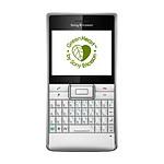 Sony Ericsson Aspen QWERTZ Argent