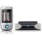 Sony Ericsson Zylo Argent + Mini enceintes MS410