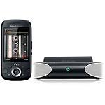 Sony Ericsson Zylo Noir + Mini enceintes MS410