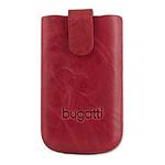 Bugatti SlimCase Unique M rouge chili - Etui en cuir universel (pour téléphones portables)