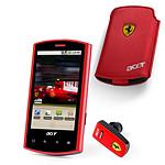 Acer Liquid E Ferrari Special Edition avec oreillette Bluetooth