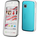 Nokia 5228 Blanc/bleu