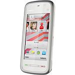 Nokia 5228 Blanc/argent