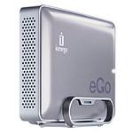 Iomega eGO Desktop Hard Drive Mac Edition 1 To Argent (USB 2.0/FireWire 800)