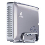 Iomega eGO Desktop Hard Drive Mac Edition 2 To Argent (FireWire 800/USB 2.0)