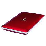 Iomega eGO Portable Hard Drive Mac Edition 320 Go - Rouge