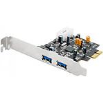 Tarjeta controladora PCI-Express 1x con 2 puertos USB 3.0 (Low Profile)