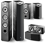 Focal Chorus Pack 5.0 726 V + CC 700 V + 706 V Black Ash