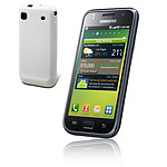 Samsung i9000 Galaxy S + Coque Muvit Blanche