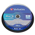 Verbatim BD-R 25 GB certificado 6x (por 10, spindle)