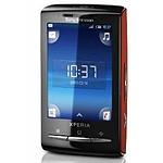 Sony Ericsson Xperia X10 mini Rouge