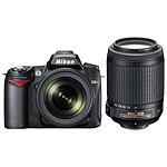 Nikon D90 + Objectifs AF-S DX Nikkor 18-105mm f/3.5-5.6G ED VR + Nikkor AF-S VR DX 55-200 mm f/4-5.6G ED