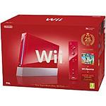 Nintendo Wii Rouge pack New Super Mario Bros.