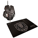 Cyborg R.A.T. CoD Black OPS Stealth Gaming Mouse + Stealth Gaming Surface