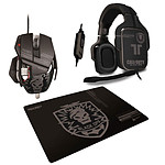 Cyborg R.A.T. CoD Black OPS Stealth Gaming Mouse + Stealth Gaming Surface + Tritton 5.1 Analog Gaming Headset