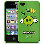 Gear4 Angry Birds Vert - Coque pour iPhone 4