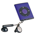 ClipSonic MP106 Violet - 4 Go