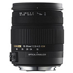 SIGMA 18-50mm F2,8-4,5 DC OS HSM monture Canon