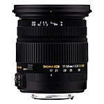 SIGMA 17-50mm F2,8 EX DC OS HSM monture Canon