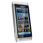 Nokia N8 Argent / blanc