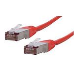 Câble RJ45 catégorie 6 SFTP 1 m (Rouge)