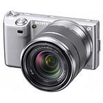Sony NEX-3 Argent + Objectif 18-55 mm