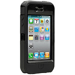 OtterBox Defender Noir - Coque haute protection pour iPhone 4