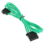 BitFenix Alchemy Green - Extension d'alimentation gainée - Molex vers Molex - 45 cm
