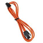 BitFenix Alchemy Orange - Extension d'alimentation gainée - ATX12V 4 pins - 45 cm