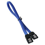 BitFenix Alchemy Blue - Cable SATA con funda 30 cm (color azul)