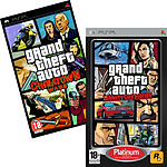 "Pack PSP GTA ""Liberty City Stories Platinum"" + ""Chinatown Wars"" + Sacoche Joytronic"