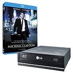 LG BH10LS30 + Blu-ray Michael Clayton