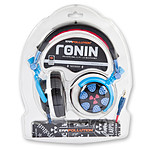 iFrogz EarPollution Ronin Bright Blue/Red