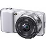 Sony NEX-3 Argent + Objectif 16 mm